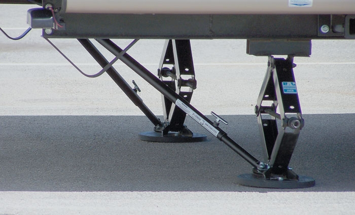 Trailer Stabilizer Jack Stand Lock Arm
