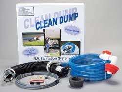 Clean Dump CDFK Flojet Portable Waste Accessory Kit