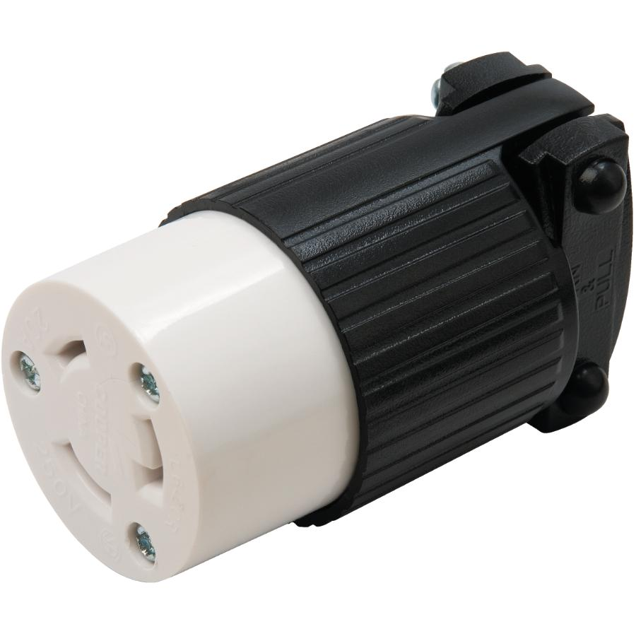 Eaton 20 Amp 250v Twist Electrical Connector Home Hardware Canada Shop Cooper Wiring Devices 20amp 250volt Black 3wire Grounding Plug