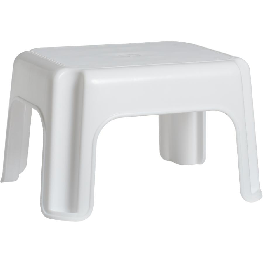 Rubbermaid 1 Step White Roughneck Step Stool Home Hardware