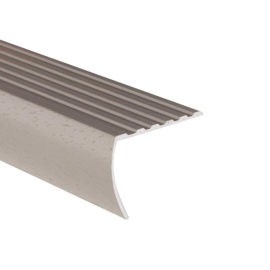 Shur Trim 1 3 8 X3 Hammered Titanium Stair Nose Moulding Home Hardware