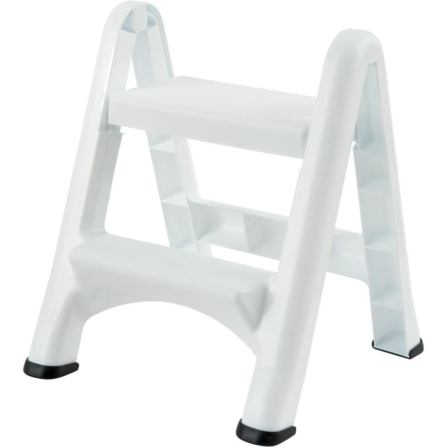 Fantastic Rubbermaid 2 Step White Folding Step Stool Home Hardware Pdpeps Interior Chair Design Pdpepsorg