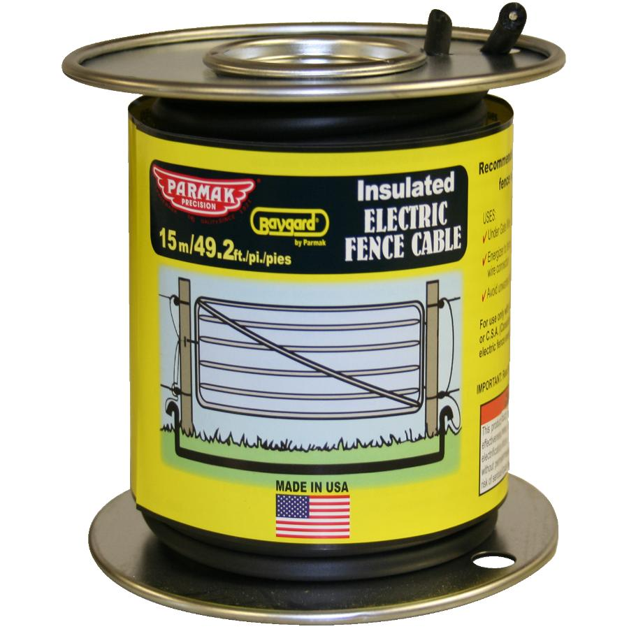 Gallagher G627014 Electric Fence 12.5-Gauge Heavy Duty Underground Cable 65-Feet
