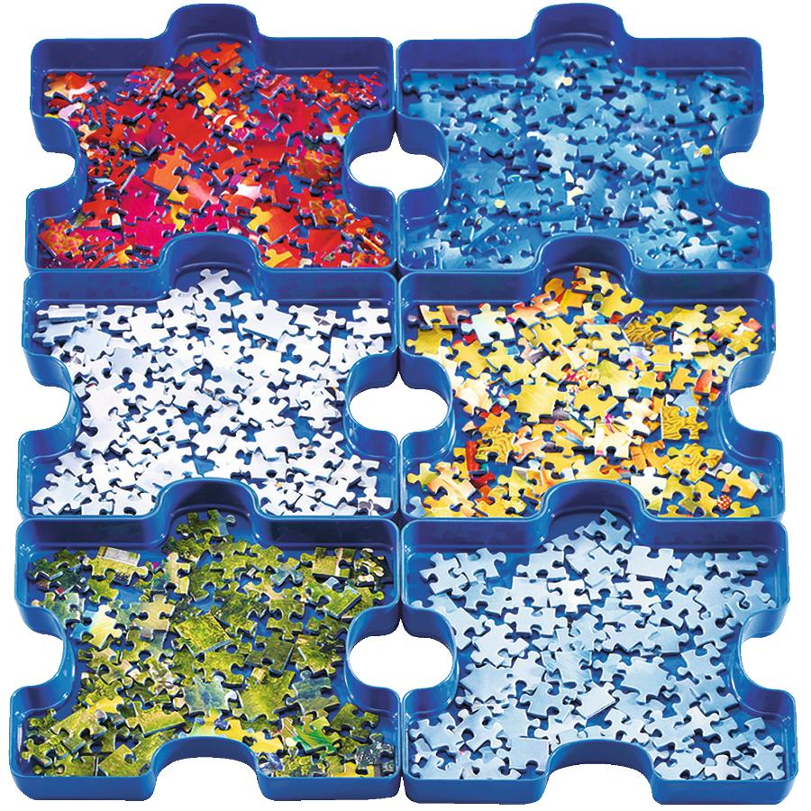 Ravensburger 6 Pack Sort and Go Puzzle Trays   Home Hardware
