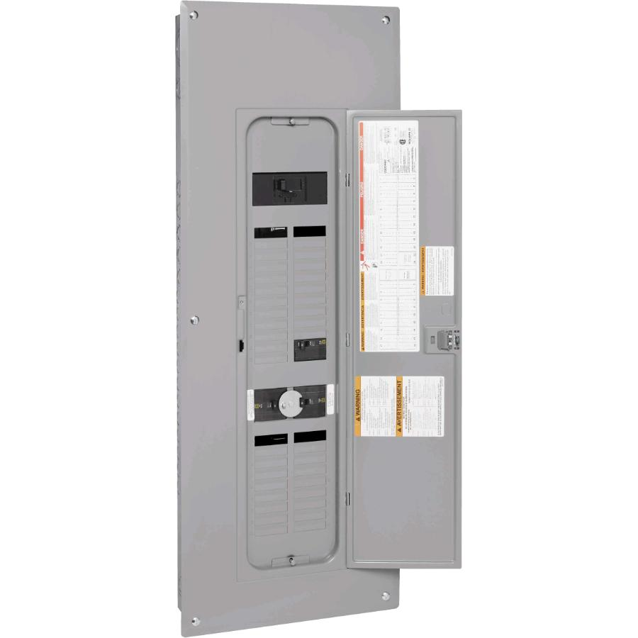 Square D 80 Circuit 200 Amp Combination Generator Panel Box With 36 Jpeg This Is One Application Of L585 If You Need More Circuits Back Up Home Hardware Canada