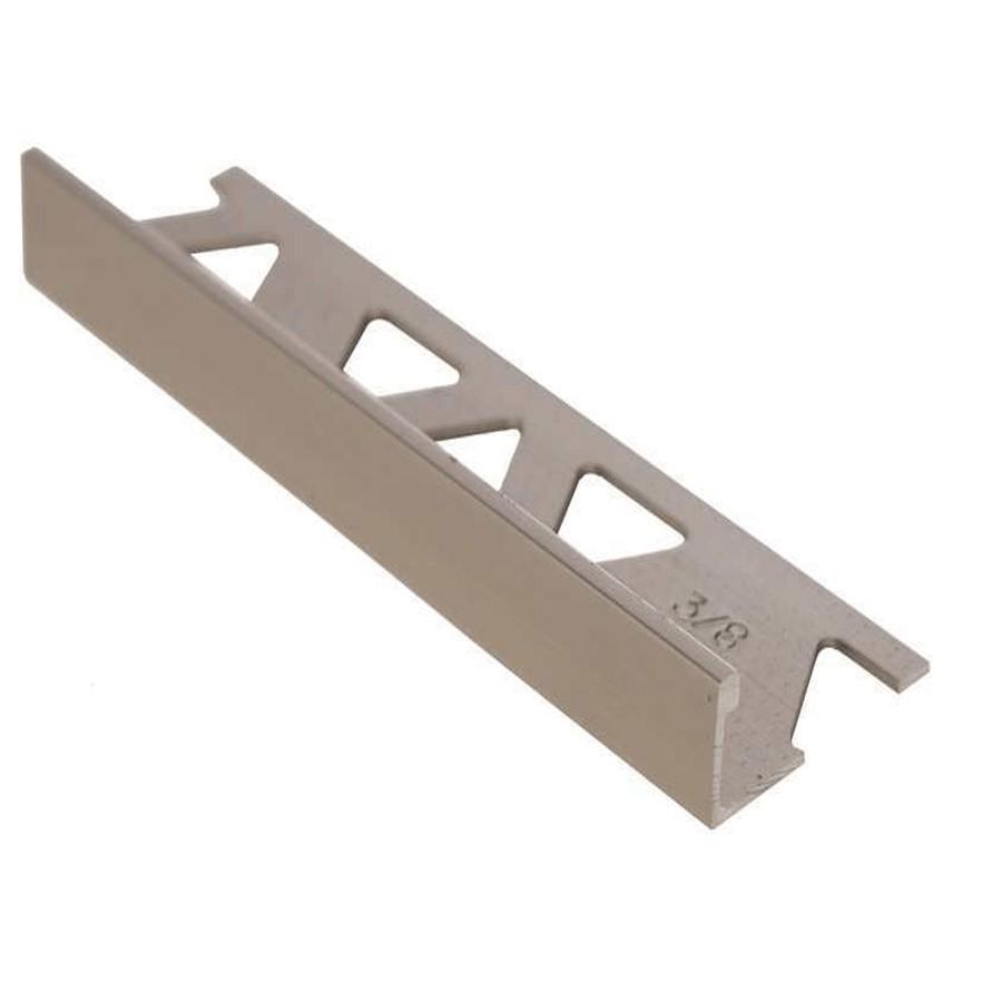 Titanium Aluminum Tile Edging 1 4 X 8 Home Hardware