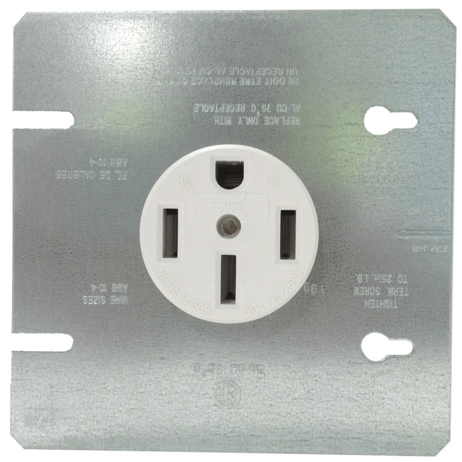 Eaton 50 Amp Range Receptacle Home Hardware Canada Rv Plug Wiring Size