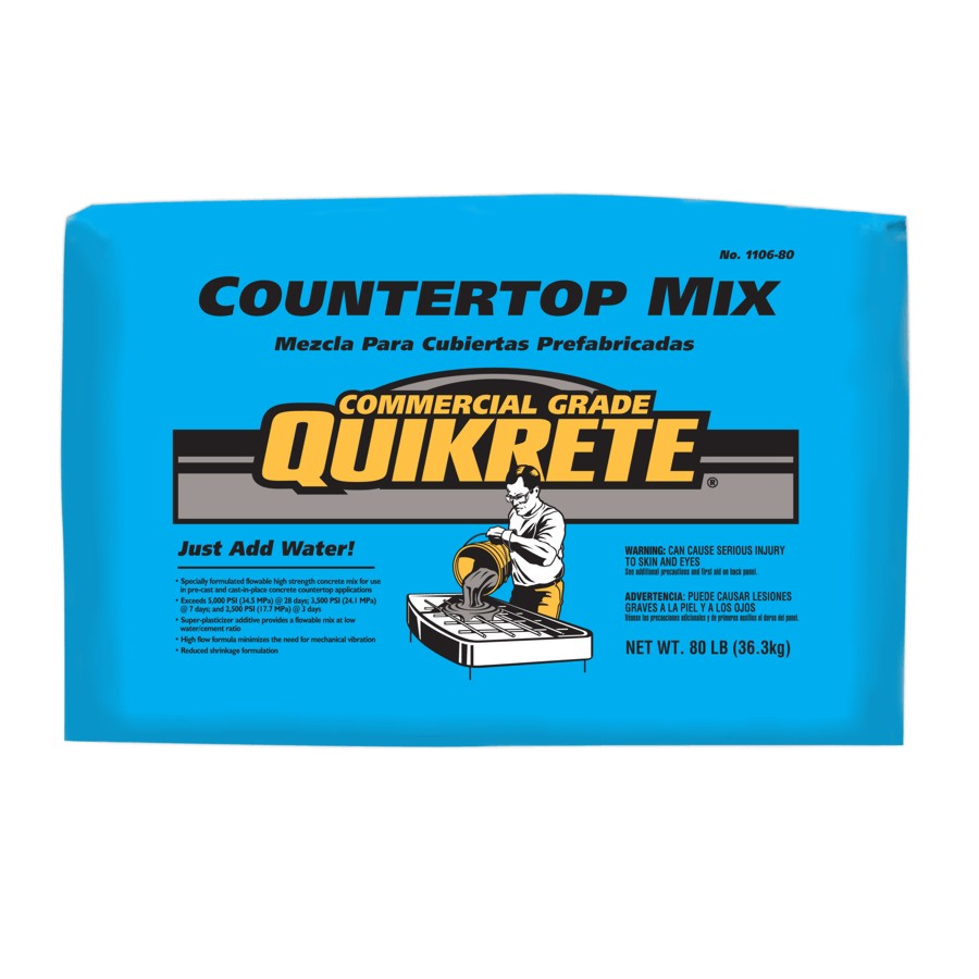 Quikrete 36 3kg Countertop Mix Concrete Home Hardware