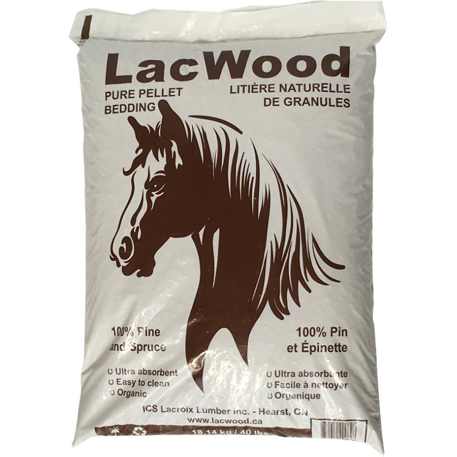 Lacwood 40lb Bedding Wood Pellets | Home Hardware
