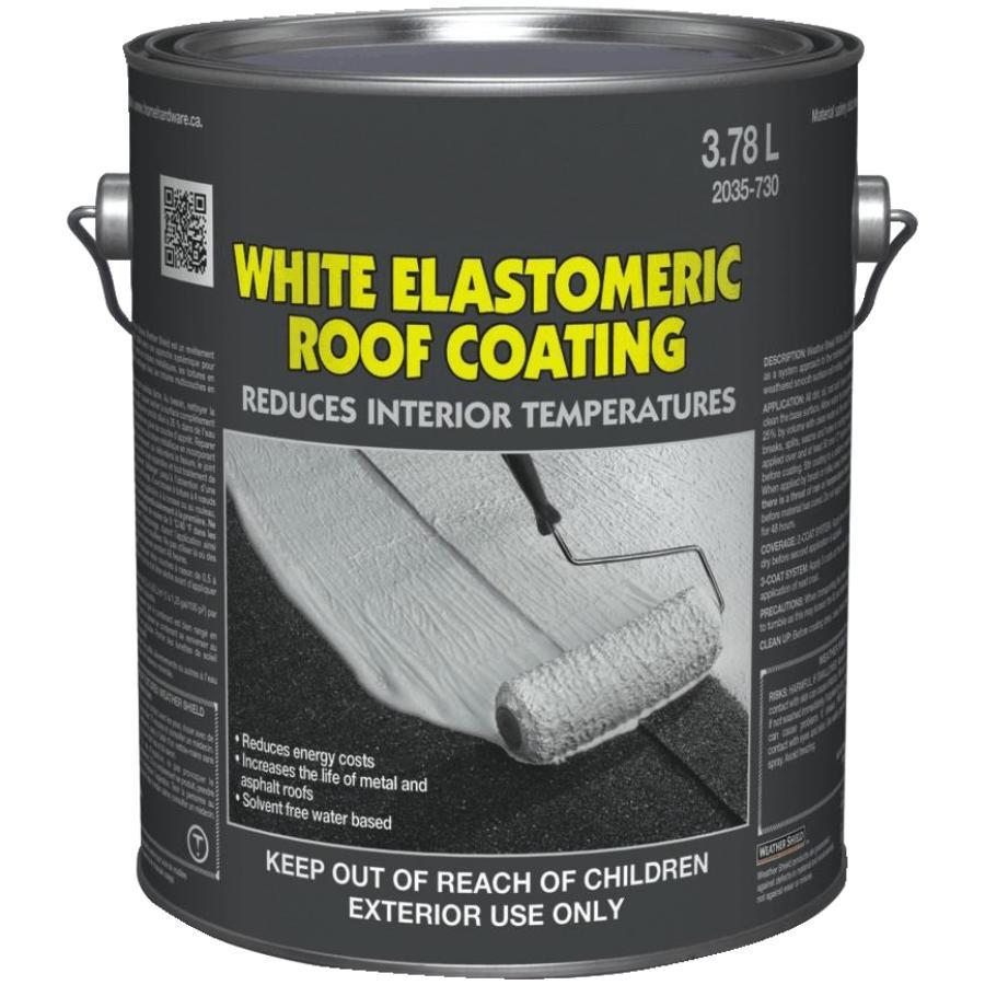 Home Builder 3 78L White Elastomeric Roof Coating | Home