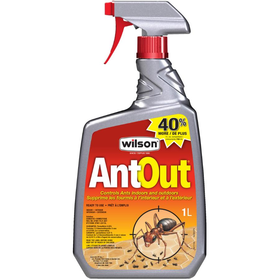 WILSON 1L Ready To Use Indoor And Outdoor Ant Killer Insecticide