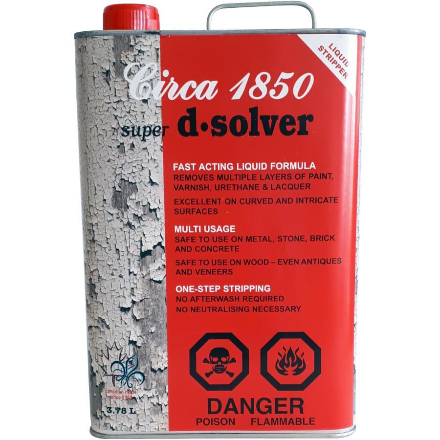CIRCA 1850 3 78L Super D-Solver Liquid Paint and Varnish Remover