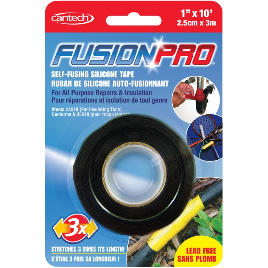 Cantech Black Self Fusing Silicone Tape | Home Hardware