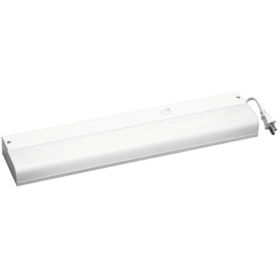 Home 15w t8 1 x 18 corded fluorescent light fixture