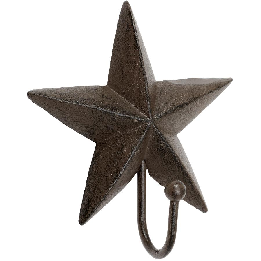 Koppers Home Cast Iron Star Wall Hook Home Hardware
