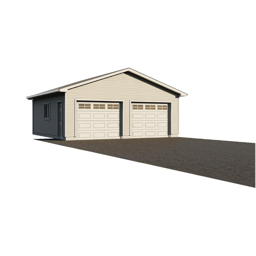 28'x30' 2 Door Garage Package, with Complete Exterior Option
