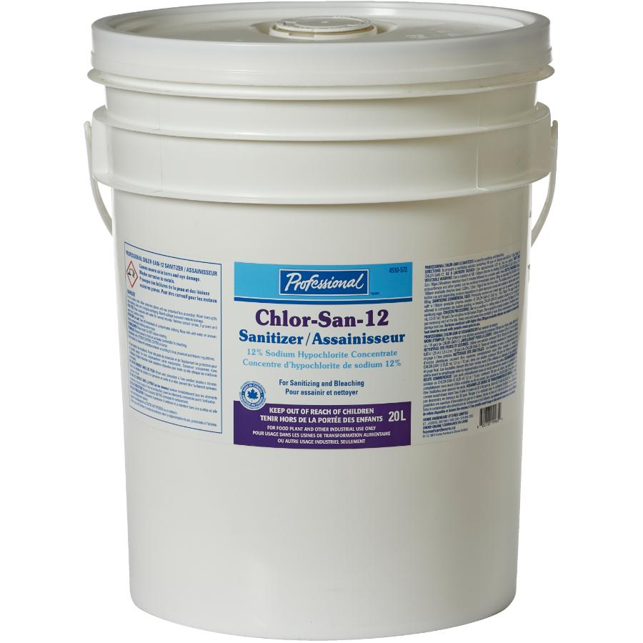 Professional 20L 12% Chlorine Liquid Bleach | Home Hardware