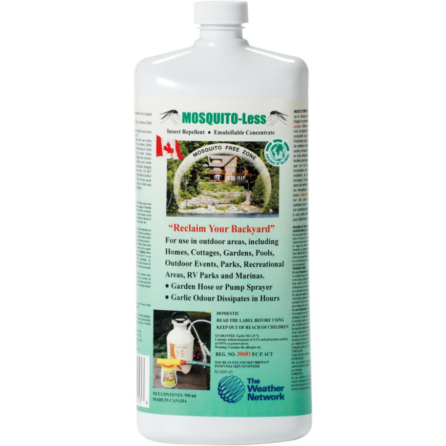 Mosquito-Less 900mL Concentrated Mosquito Garlic Oil   Home
