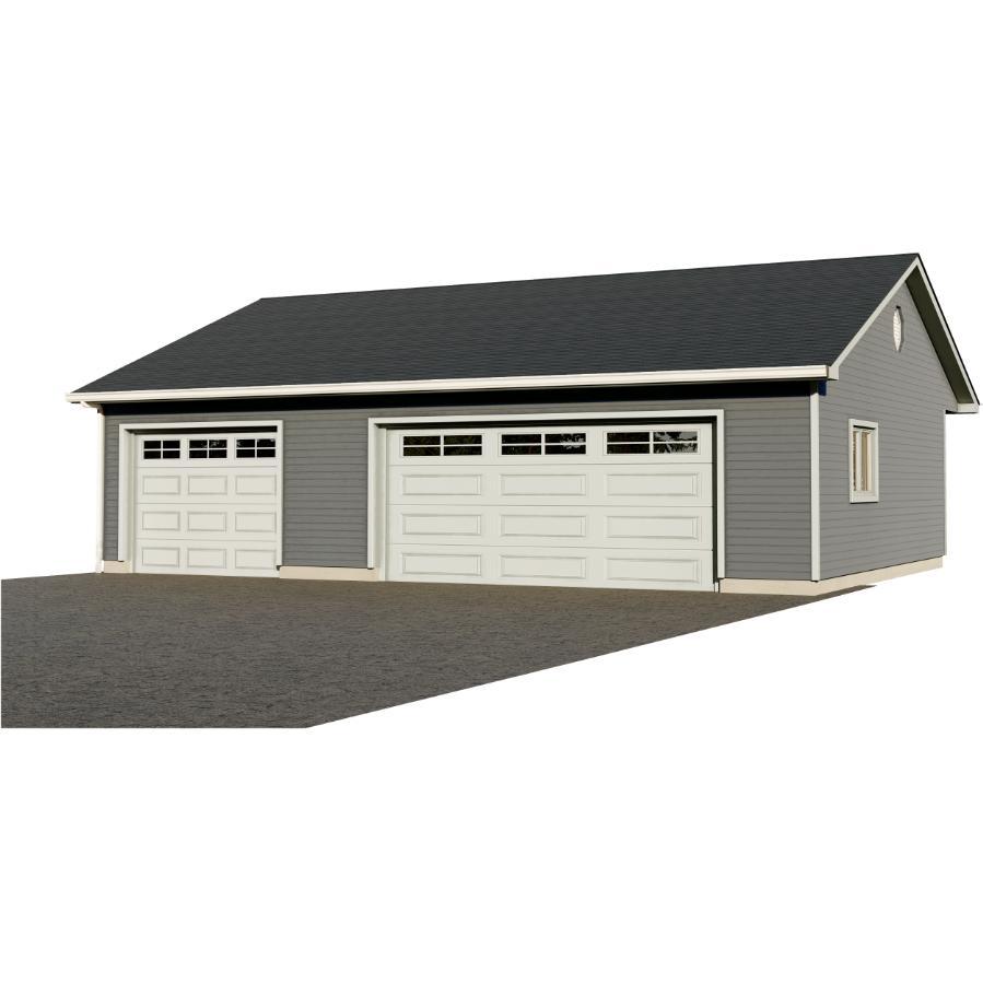 36 X28 Garage Package With Complete, Garage Loft Plans Home Hardware