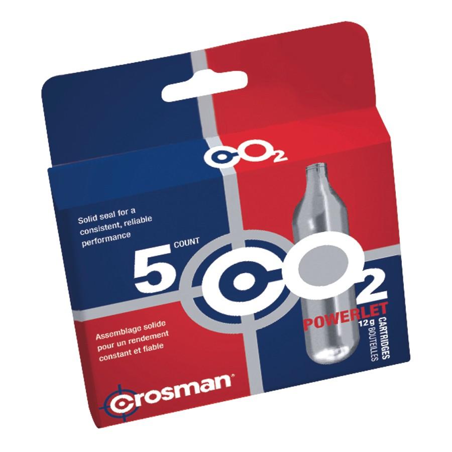 CR231B CO2-5 Crosman CO2 5 Count 12 Gram Cartridges