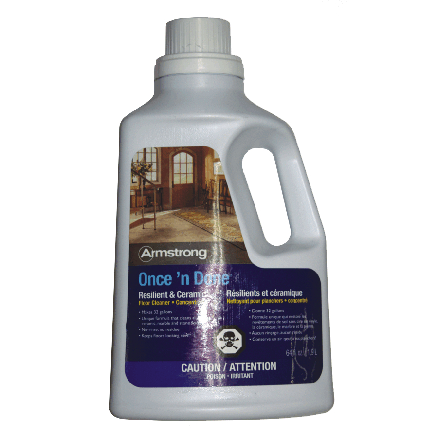 Armstrong 1 9l Once N Done Floor Cleaner Concentrate Home