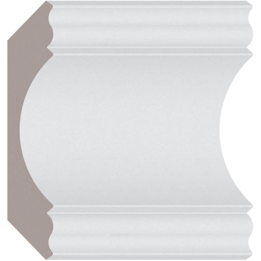 Alexandria Moulding 1 1 8 X6 1 4 Medium Density Fibreboard Primed Crown Moulding By Linear Foot Home Hardware