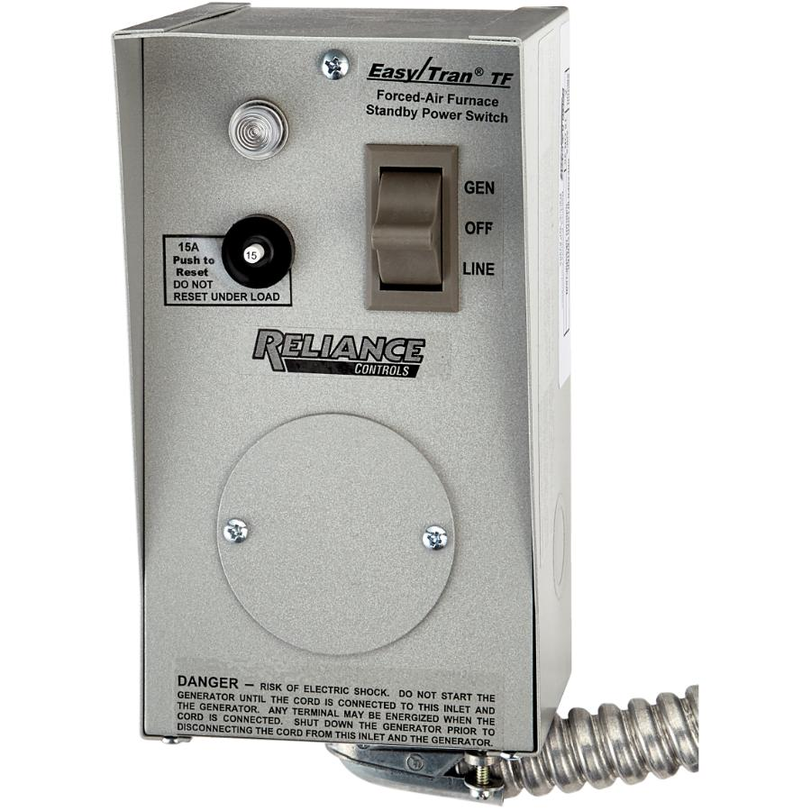 Reliance Controls 15 Amp 1 Circuit Power Transfer Kit For Generator On Reset Home Hardware Canada