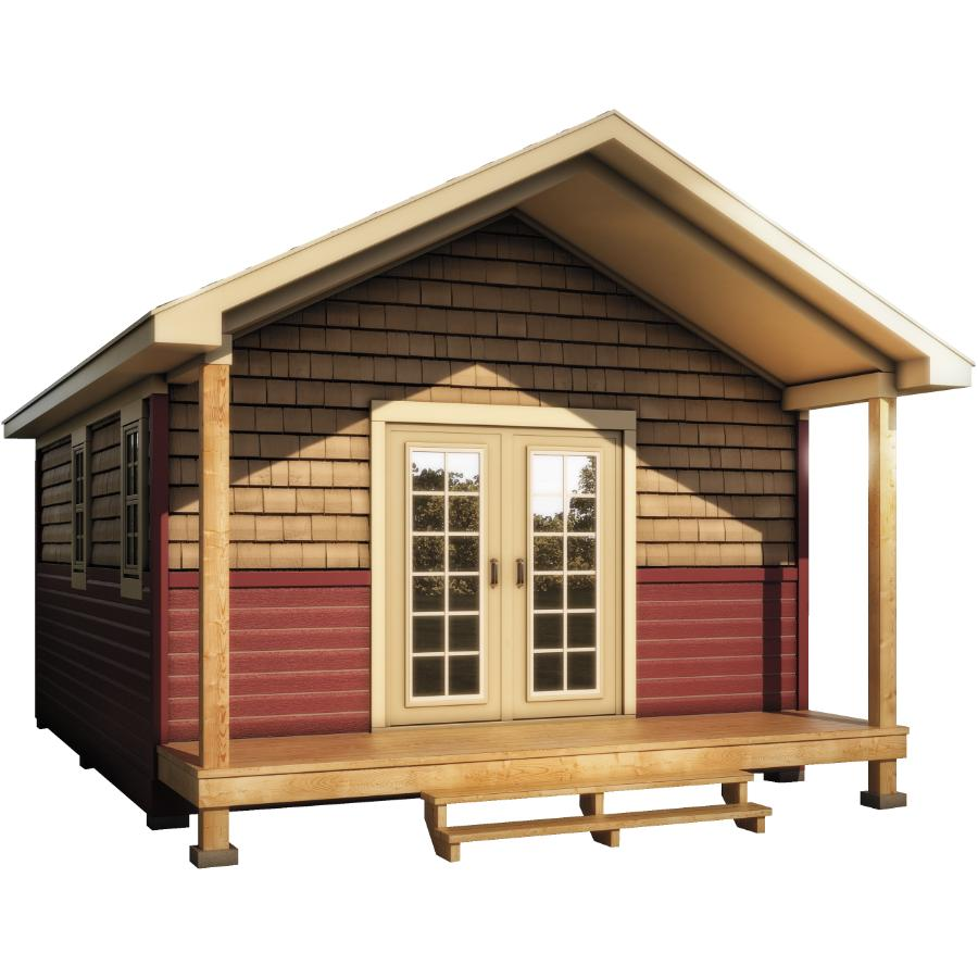 Peachy 16 X 20 Bunkie With Vertical Siding Home Hardware Home Interior And Landscaping Ologienasavecom