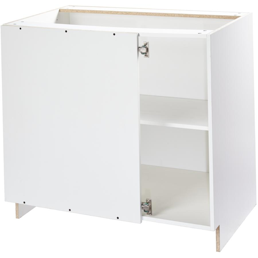Knockdown Base Blind Corner Cabinet White 38 Home Hardware
