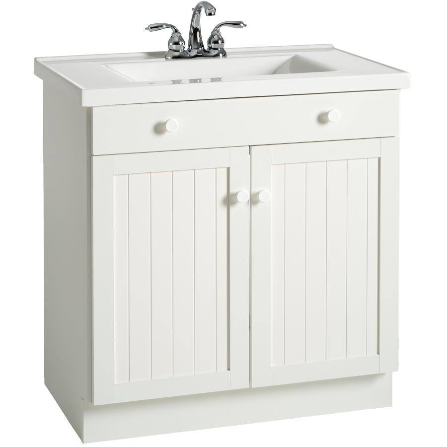 30 X 18 Cape Cod 2 Door White Vanity