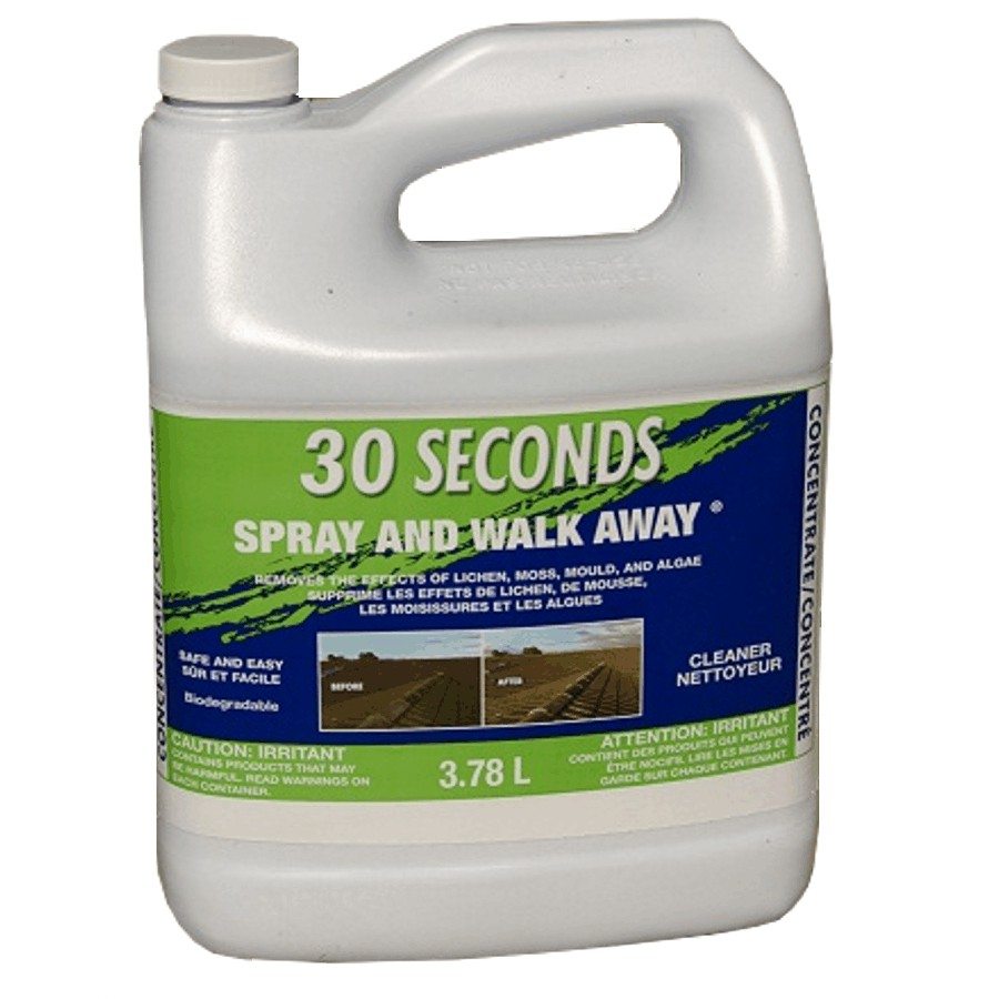 30 Seconds 3 78l Spray And Walk Away Moss Mould Algae Remover Home Hardware Canada