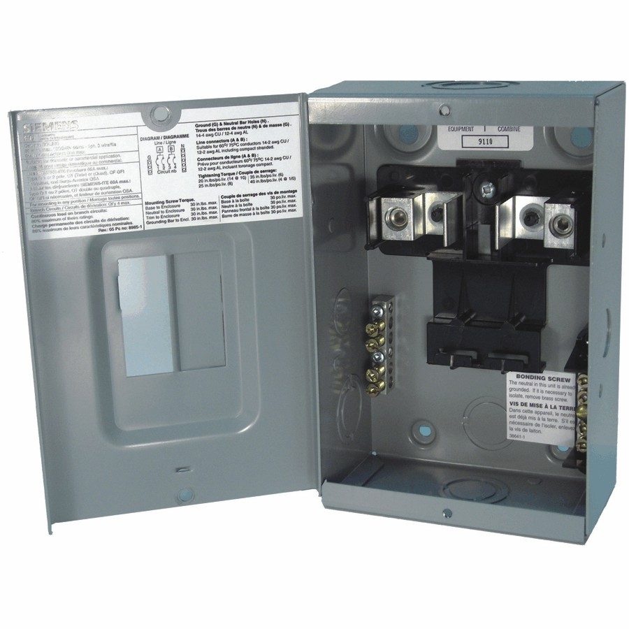 Siemens Sub Panel Wiring Diagram For Your Needs
