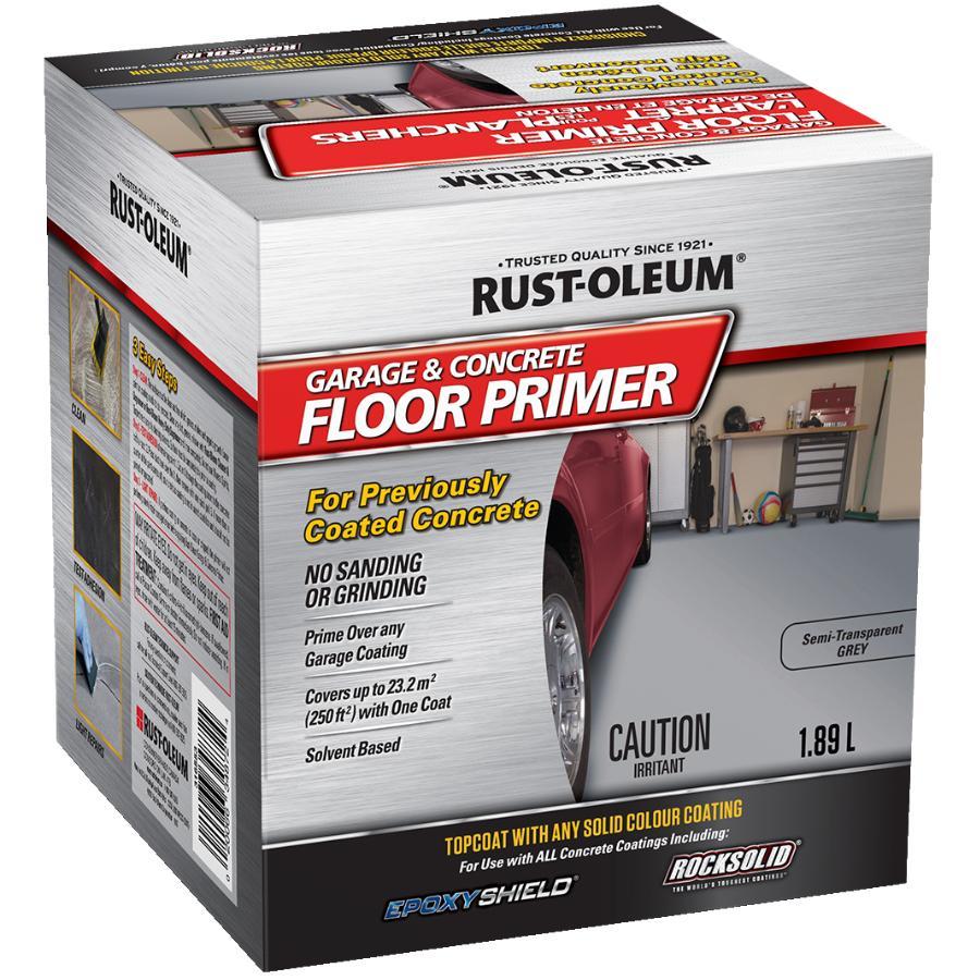 Rust-Oleum 1 89L Rock Solid Garage Floor Primer | Home Hardware
