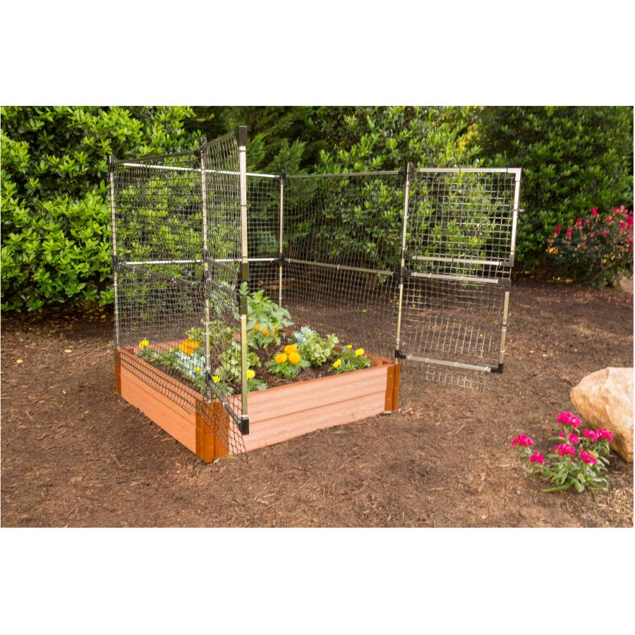 Animal Barrier For Raised Garden