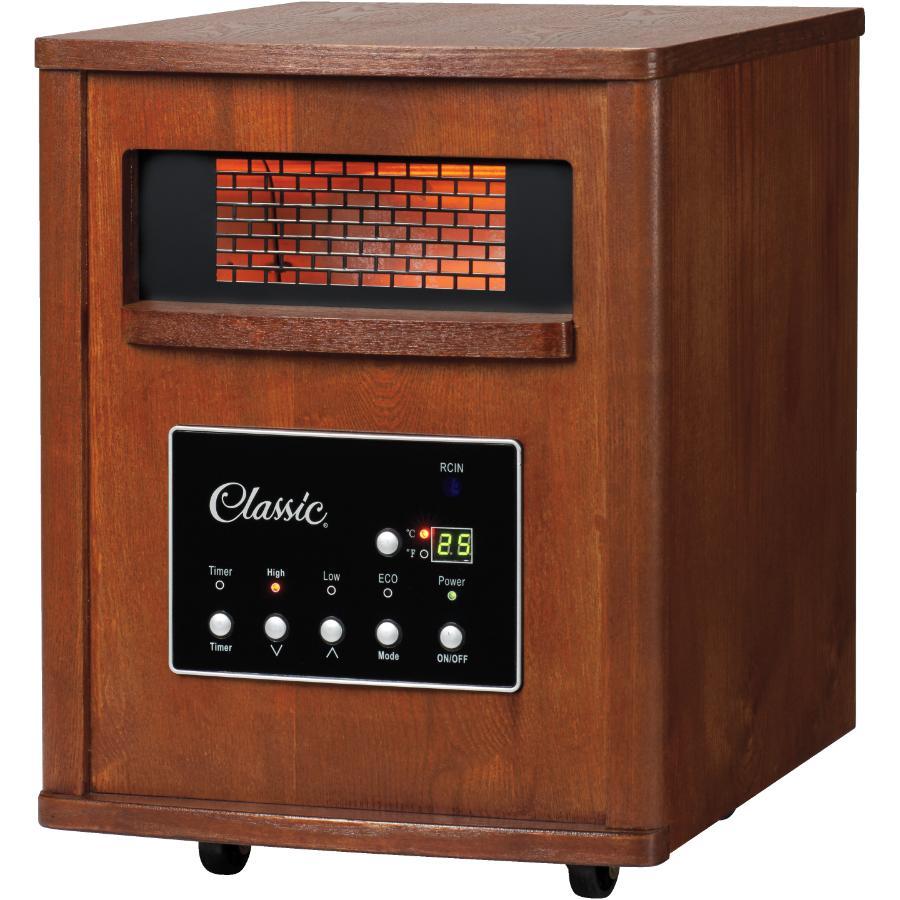 Enjoyable Classic 1500 Watt Wood Grain Infrared Heater Home Hardware Canada Wiring Digital Resources Minagakbiperorg