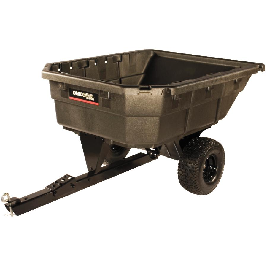 750lb 12.5 cu.ft. Poly Swivel Dump Cart - Home Hardware
