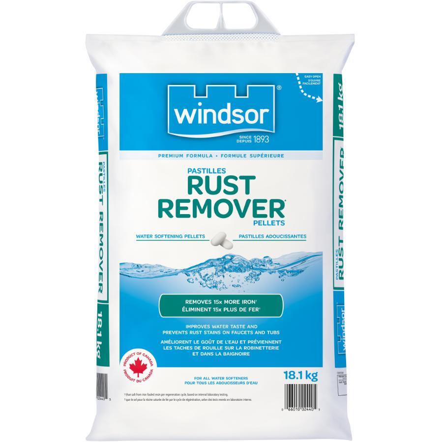 Windsor 18 1kg Softener Salt with Rust Remover   Home Hardware