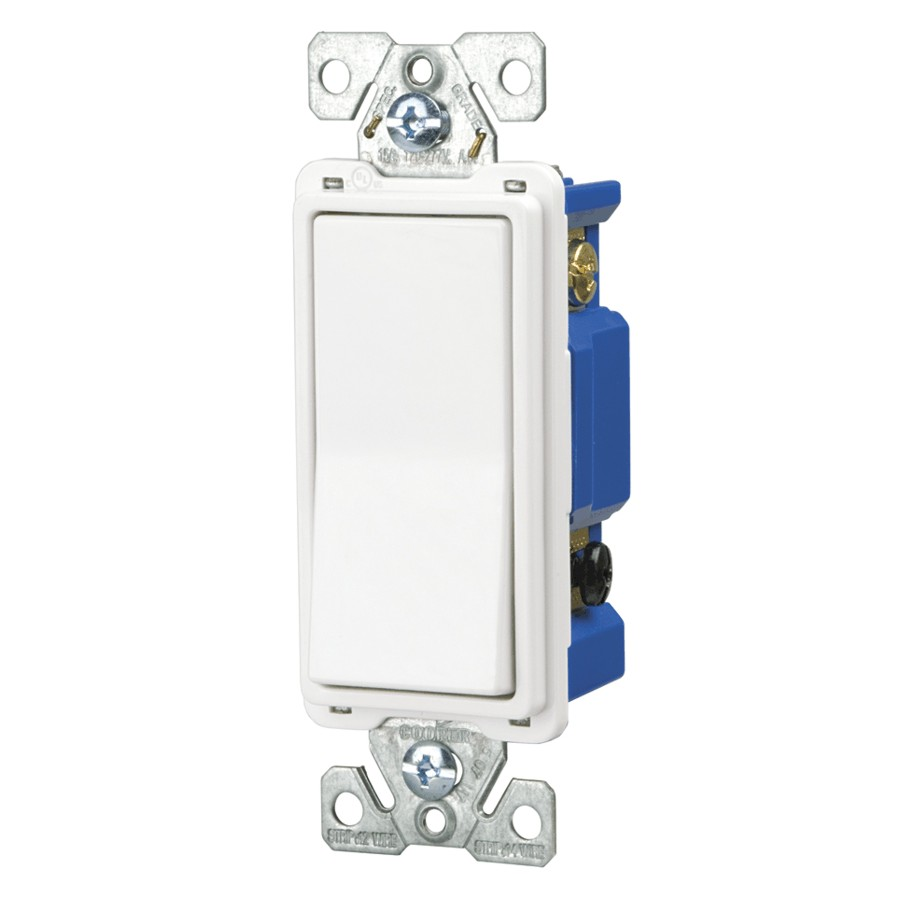 Eaton 4 Way Wide Decora White Light Switch Home Hardware Canada 3 Dimmer Rona