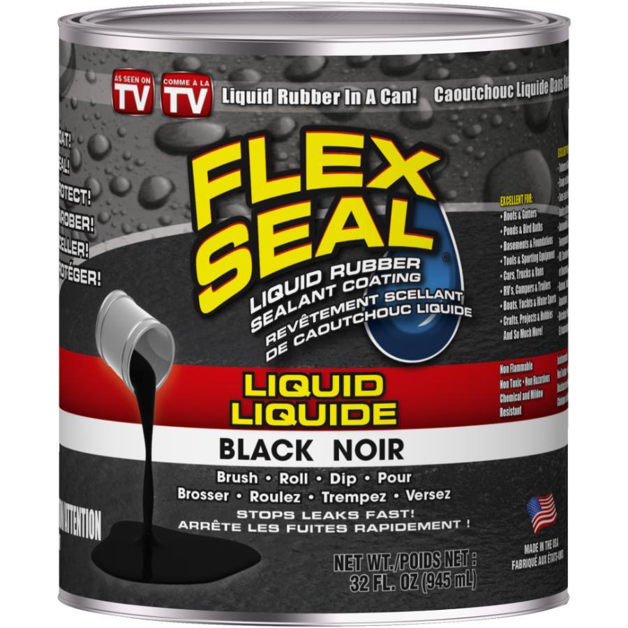 Flex Seal 32oz Black Liquid Rubber