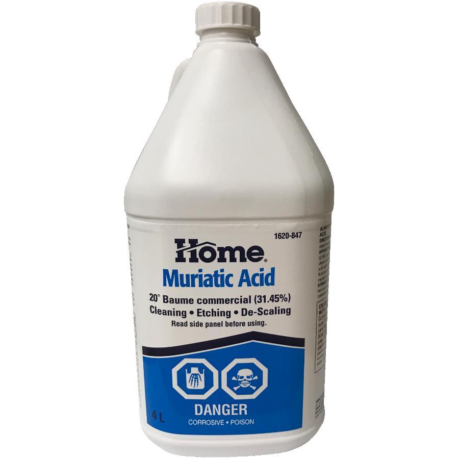 Home 4L Muriatic Acid | Home Hardware