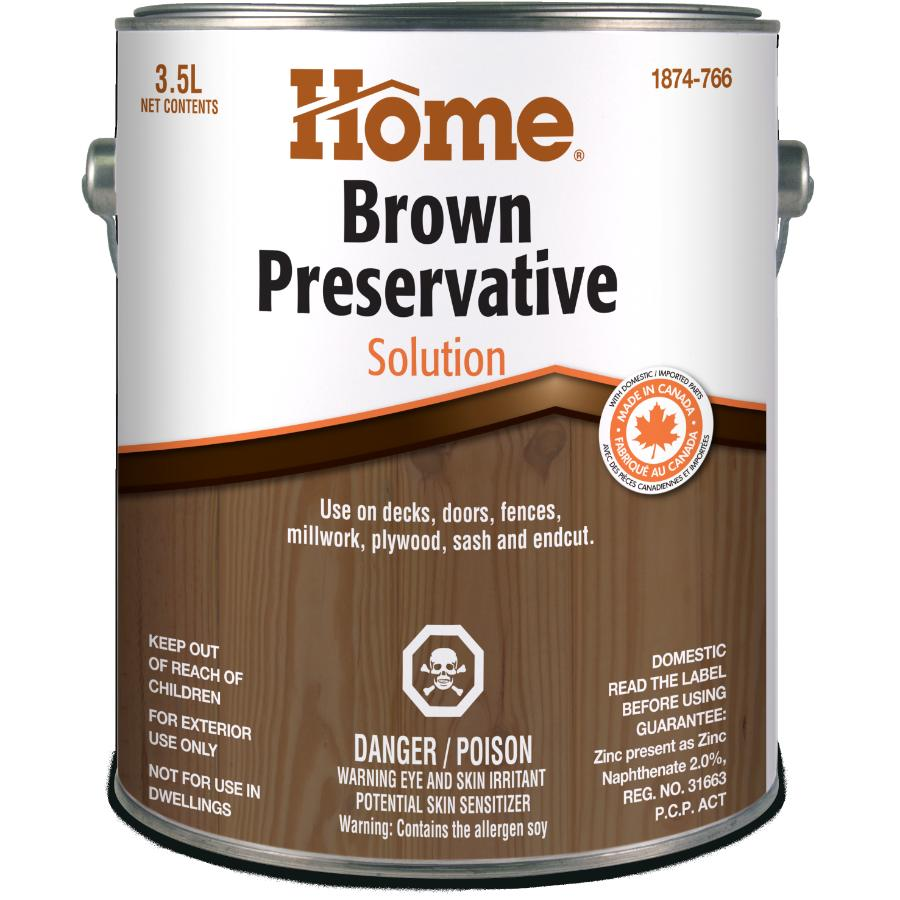 Home 3 5L Brown Wood Preservative | Home Hardware