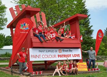 Beauti-Tone Patriot Love colour for Canada!