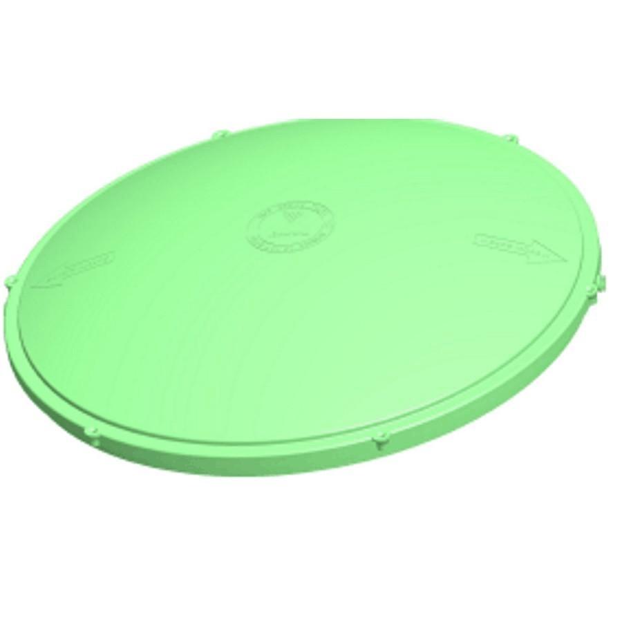 Couvercle De Rallonge Vert Rond Pour Adaptateur De Fosse Septique De 24 Po Tuf Tite Home Hardware