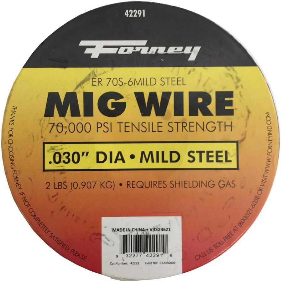 Fil de 0,030 pour soudure MIG, 2 lb FORNEY - Home Hardware