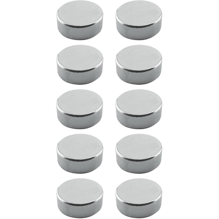 Hauteur : 19,5 mm Noyau en n/éodyme N35 de 9 x 6 mm Diam/ètre : 12 mm Orange Lot de 12 aimants en n/éodyme tr/ès puissants