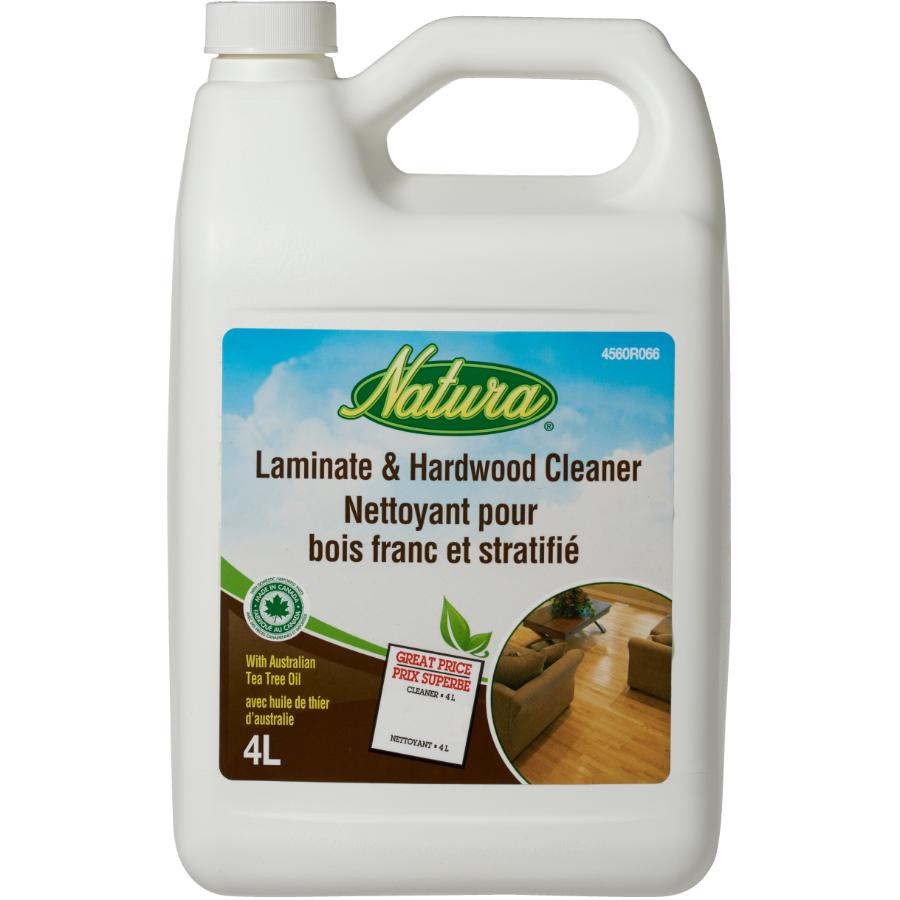 Nettoyant pour plancher de bois franc et stratifié, 4 L NATURA