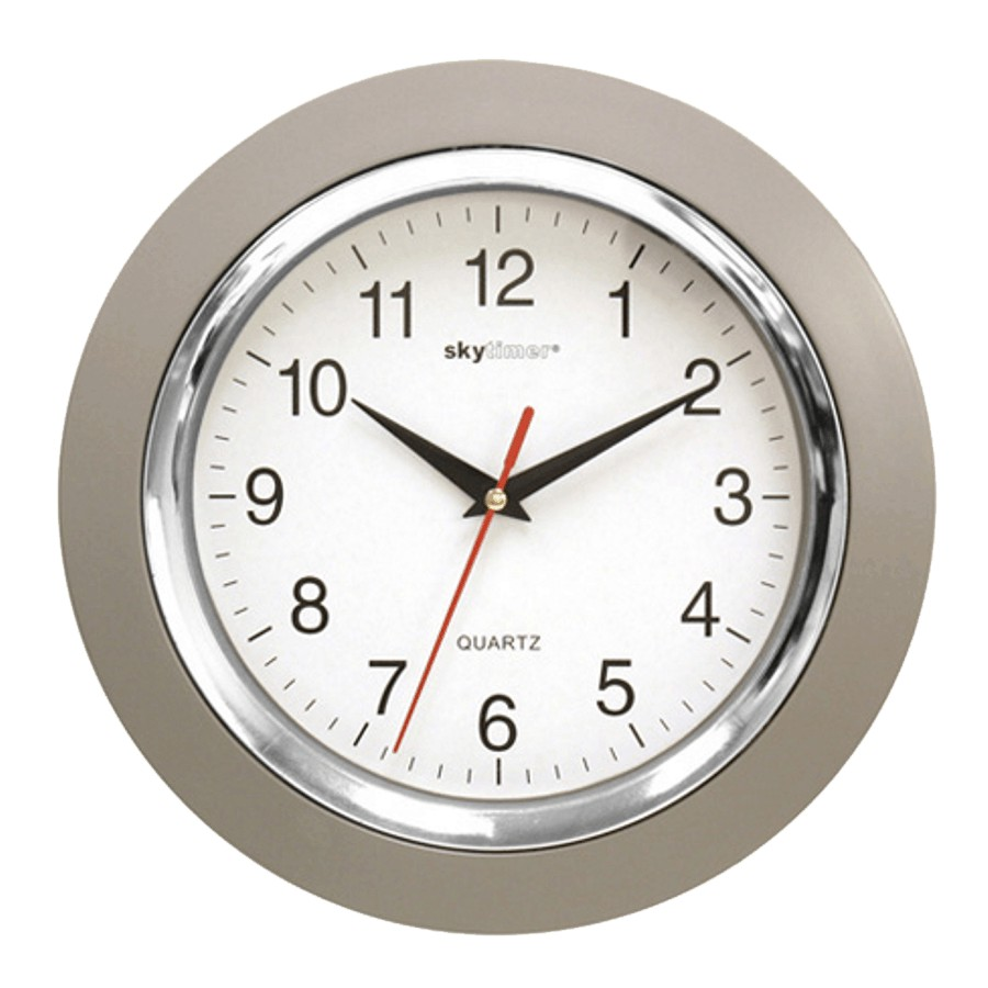 Skytimer 10 Round Classic Kitchen Wall Clock Home Hardware