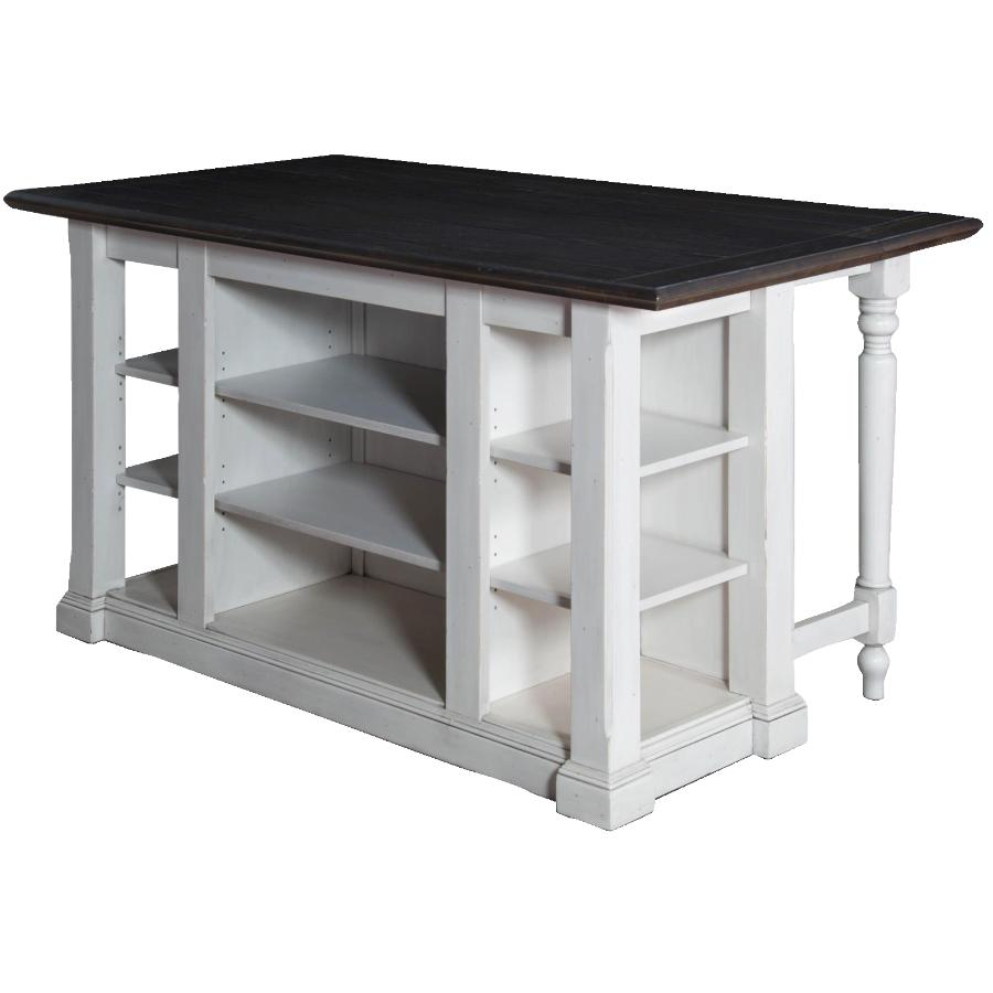 Sunny Designs Bourbon County Kitchen Island With Drop Leaf Home Hardware