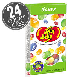 Sours Jelly Beans - 4.5 oz Flip-Top Boxes - 24-Count Case