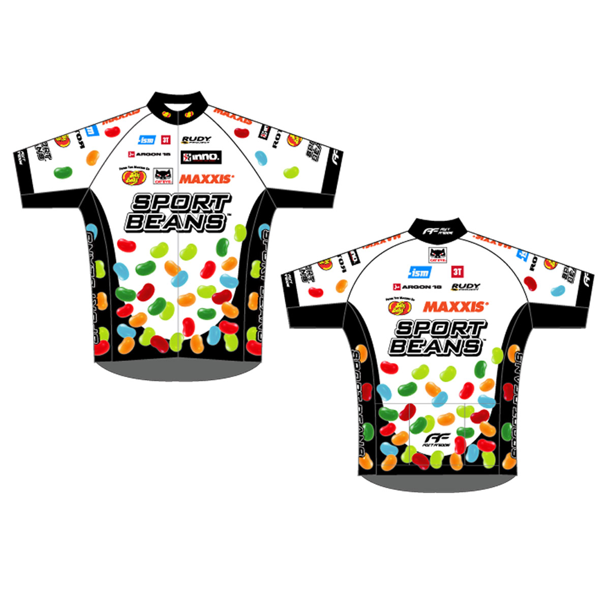 Jelly Belly 2014 Pro Cycling Team Jersey - Adult - Large